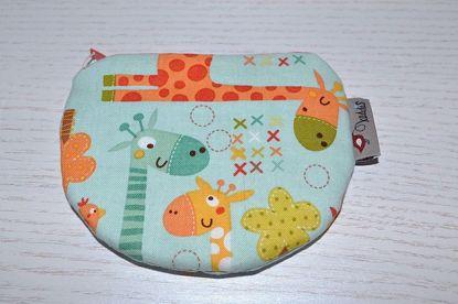 Bild von Minibörse Giraffe mint/bunt