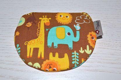 Bild von Minibörse Dschungel braun/gelb