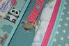 Bild von XL Windeltasche Pandabär petrol/bunt
