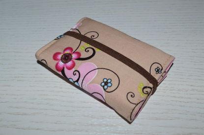 Bild von Globuli-Etui Blumenranken beige/rosa