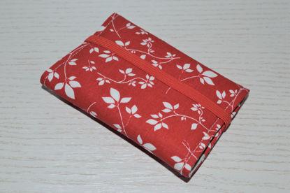 Bild von Globuli-Etui Blumen rot/weiß