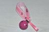 Bild von Schnullerband Schmetterling rosa/pink