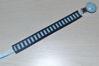 Bild von Schnullerband Stripes blau