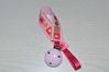 Bild von Schnullerband Prinzessin rosa/pink